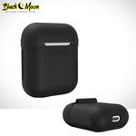 Load image into Gallery viewer, 🍭 Classic AirPod Shockproof Soft Silicone Earphone Case - Black Moon Electronics