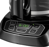 BLACK+DECKER Coffee Maker, 12 Cup, Programmable, Black, CM1105BC
