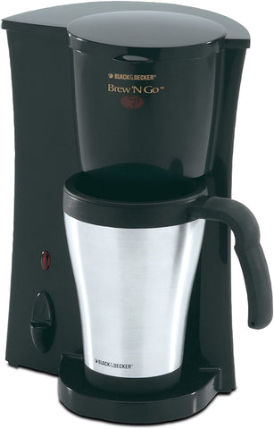 Black & Decker DCM18SC One Cup Thermal Coffee Maker