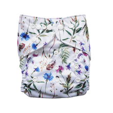 Load image into Gallery viewer, Evia OSFM Reusable Nappy Alaskan Wildflower
