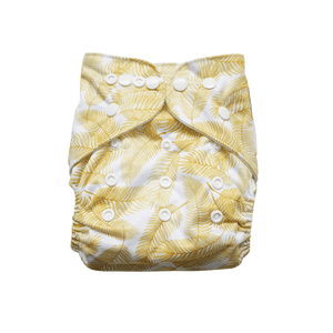 Evia Reusable Nappy with fern print