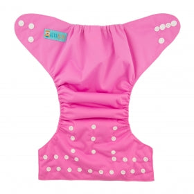 Eco friendly modern cloth nappy bubblegum pink