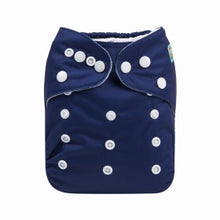 Load image into Gallery viewer, Alva Baby OSFM pocket nappy Eclipse NAVY