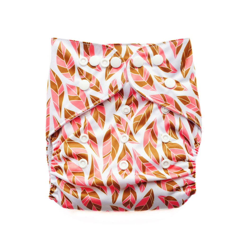 Evia OSFM Pocket Nappy- Autumn Fall