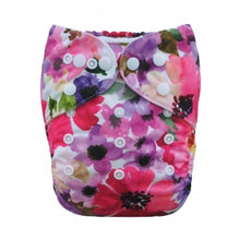 Load image into Gallery viewer, Alva Baby OSFM pocket nappy floral print