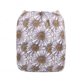 Alva Baby OSFM Pocket Nappy- Sunflowers