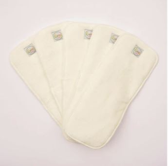Hemp cloth nappy inserts