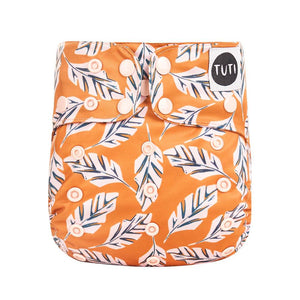 TUTI cloth nappy Pickled Ginger print
