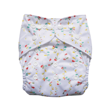 Load image into Gallery viewer, Evia Reusable Nappy Rainbow Tales print