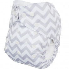 Load image into Gallery viewer, NEW! Alva Baby OSFM Pocket Nappy- Ziggy