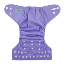 Load image into Gallery viewer, Alva Baby OSFM Pocket Nappy- Lilac