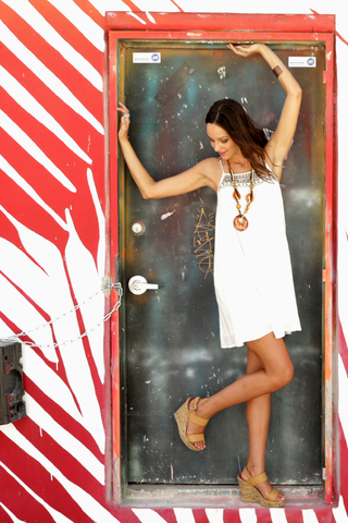 Mini Dress White Tunic