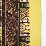 Bohemian Chic Silk Head Scarf Gold