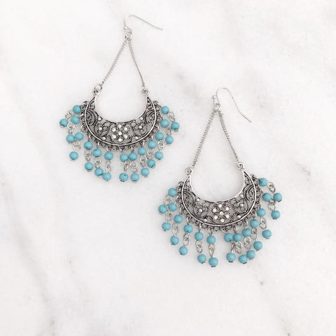Bohemian Gypsy Chandelier Earrings