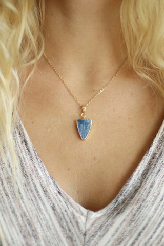Arrowhead Necklace - Semi Precious Stone