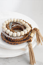 Wrap Bracelet Set with Tassels