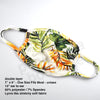 Face Mask - Summer Tropical print