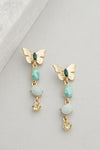 Butterfly Summer Drop Earrings