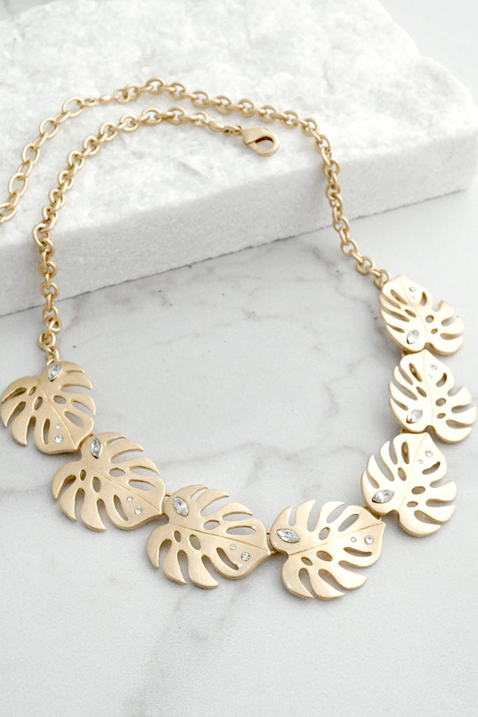 Tropical Summer Necklace