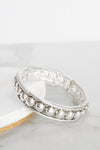 Timeless Silver Tone Primitive Bohemian Bangle