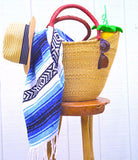 Beach Straw Basket