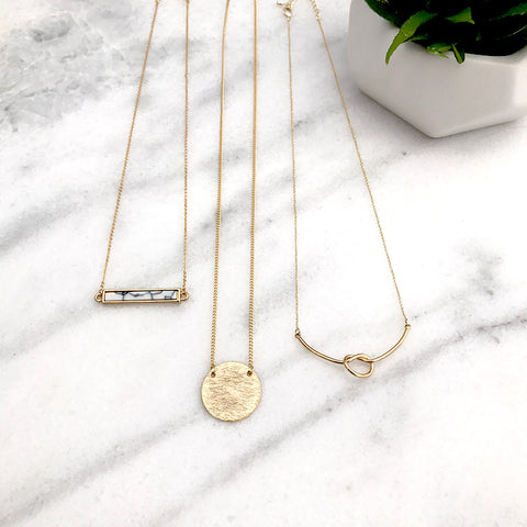 Layering Necklace - Pick and choose
