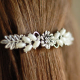 Vintage Flower Hair barrette clip