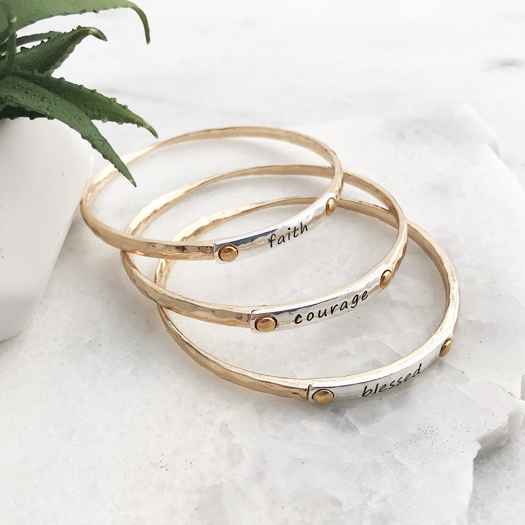gold bracelet layering rose gorgeous london perfect bangle stacking bangles for and bracelets jamie stackable products set