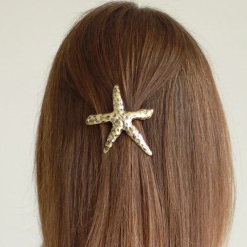 Starfish Hair barrette clip
