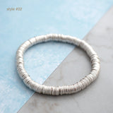 Disc stretchy bracelet