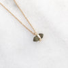 Dainty Collarbone Tiny Semi Precious necklace
