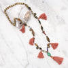 Bali Indonesia Tassel Necklace Mala
