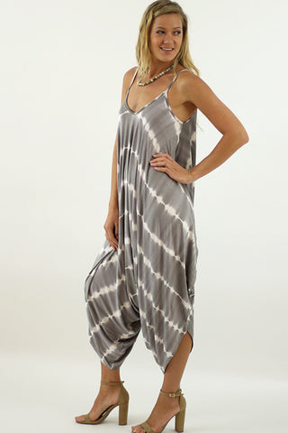 Tie Dye Harem Jumpsuit overall