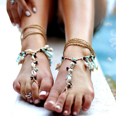 Barefoot Sandals Turquoise - Footware