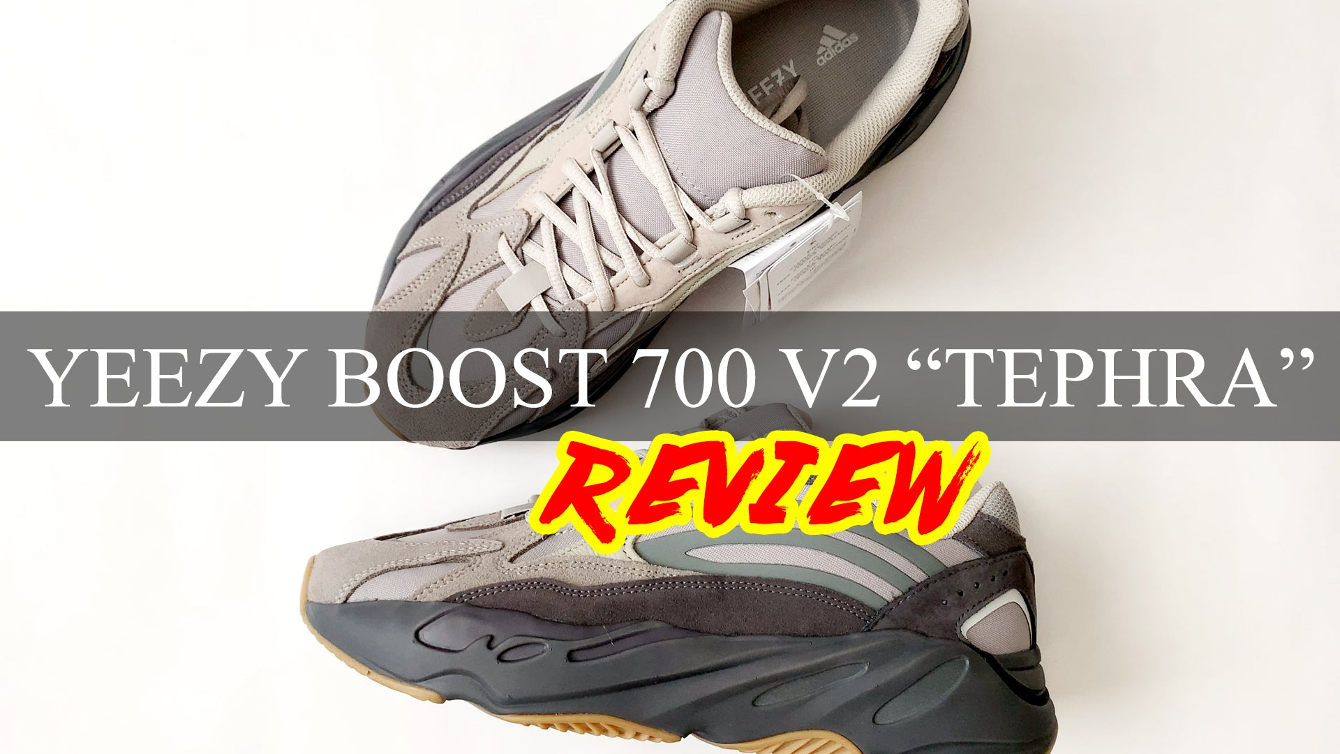 "Adidas YEEZY Boost 700 V2 ""TEPHRA"" Review 