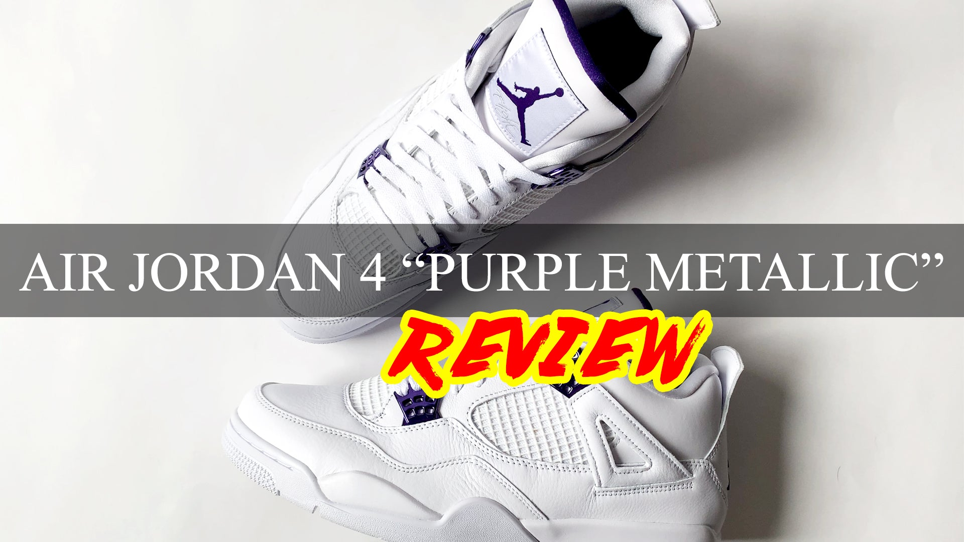 "Air Jordan 4 Retro ""PURPLE METALLIC"" Review 