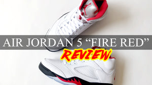 "2020 Air Jordan 5 ""FIRE RED"" Review 
