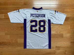 Reebok Vikings Adrian Peterson NFL Football Jersey