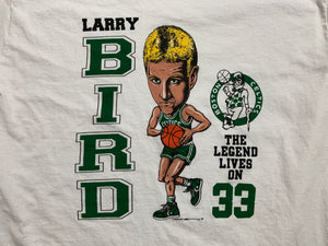 Vintage 1993 Boston Celtics Larry Bird The Legend Lives On T-Shirt