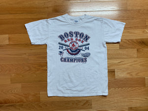 Vintage 2004 Boston Red Sox Champions T-Shirt