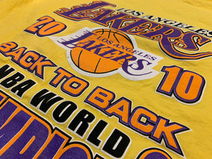 2010 Los Angeles Lakers Back to Back NBA Champions