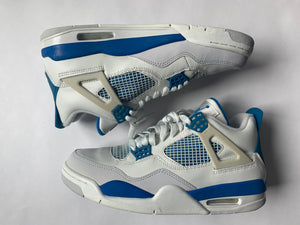 "2006 Air Jordan 4 Retro ""Military Blue"""