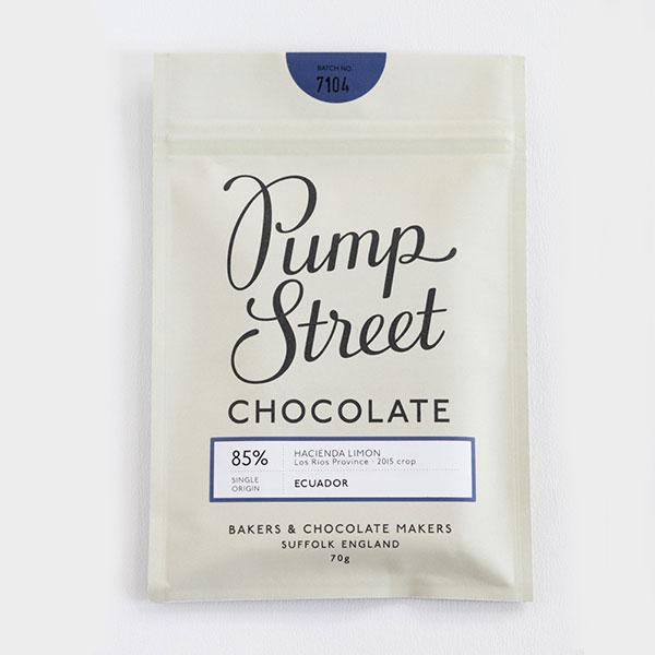 Pump Street Chocolate - 85% Ecuador Hacienda Limon