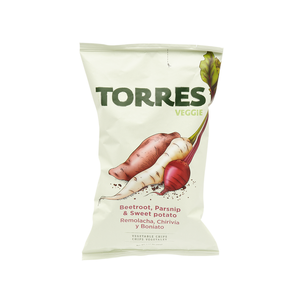 Torres Vegetable Potato Crisps, 90g