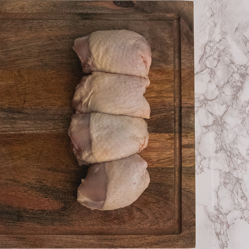 4 Free Range Chicken Thighs
