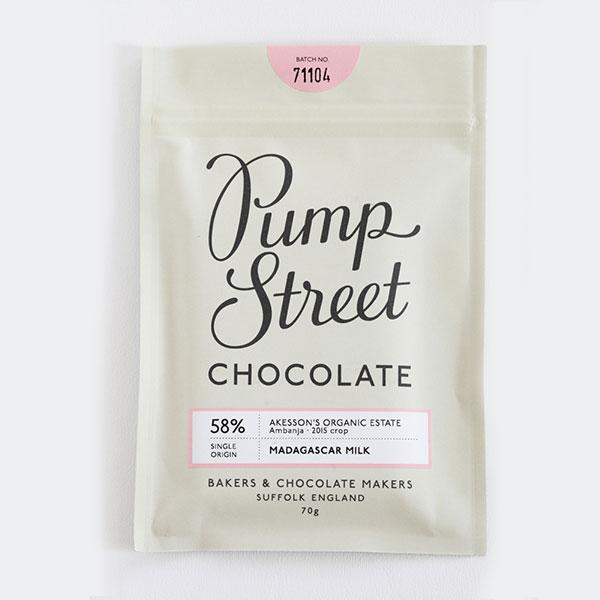 Pump Street Chocolate - 58% Madagascar Milk