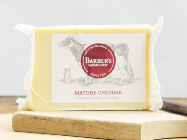 Barber's Mature Cheddar - 320g