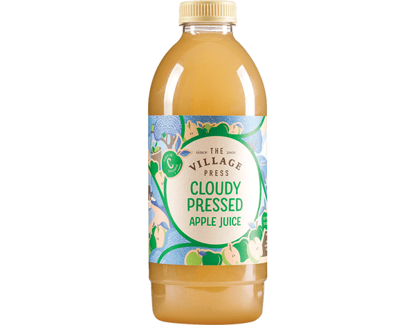 Pressed Cloudy Apple Juice - 1L