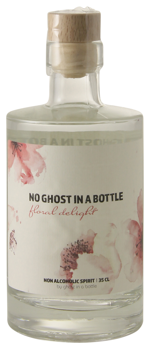 No Ghost in a Bottle Floral Delight 35 cl - Alternatief voor Gin - The healthy drinker