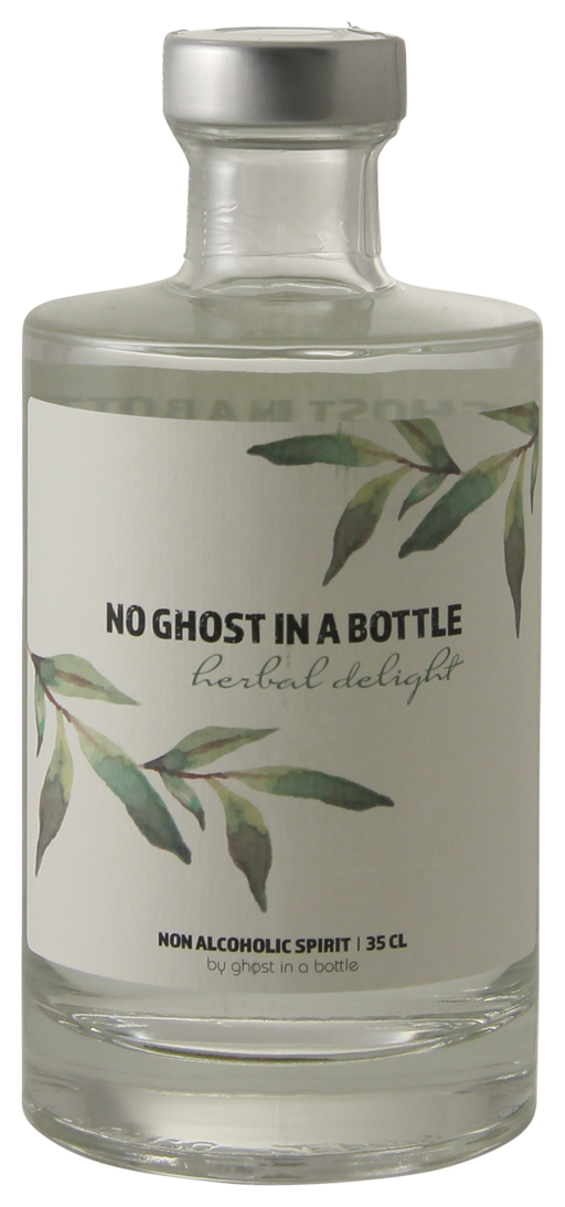 No Ghost in a Bottle Herbal Delight 35 cl - Alternatief voor Gin - The healthy drinker